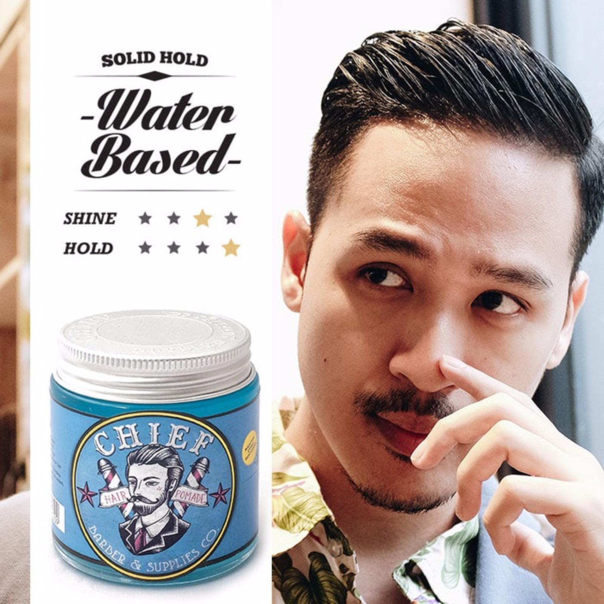 HEMAT..! CHIEF Pomade Blue Water Based 4.2oz Terbagus