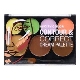 City Color - Contour & Correct Cream Palette