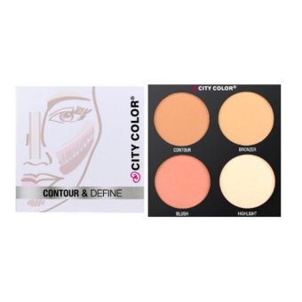 City Color - Contour & Define Palette