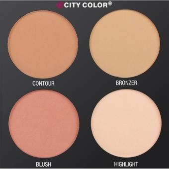 City Color Cosmetics Contour & Define Palette