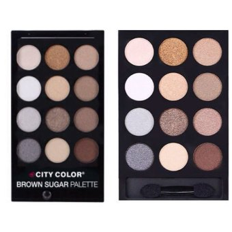 City Color Smokey Nudes Palette