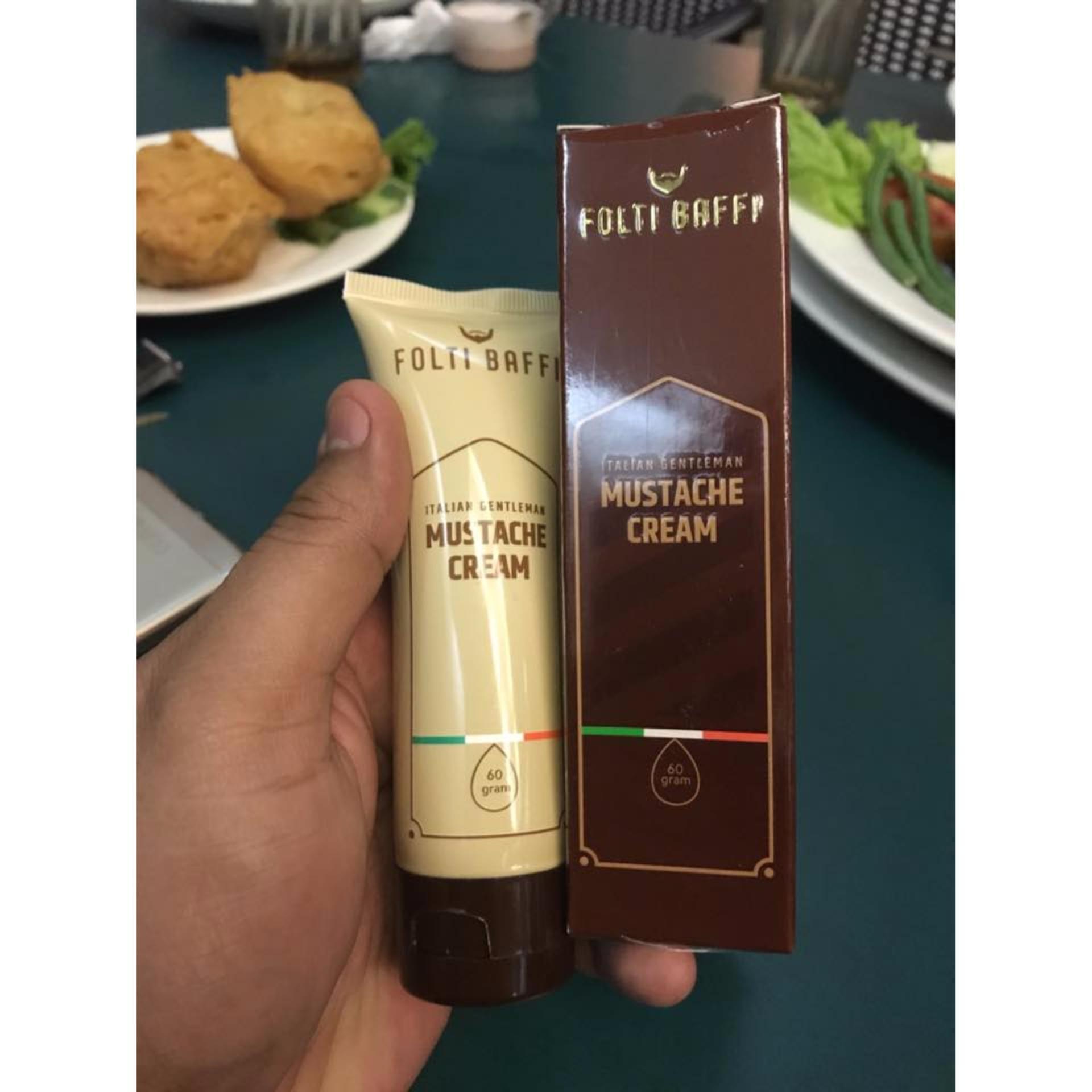 Cream Penumbuh Brewok Super Menumbuhkan Jenggot Jambang Kumis dan Alis by Folti Baffi The Italian Gentlemen