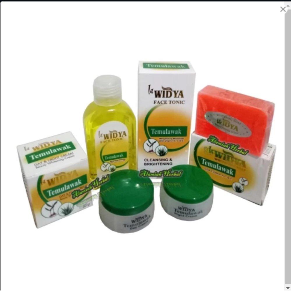 Cream Temulawak Widya Bpom 3 in 1 -Paket Lengkap Cream Widya 3in1 -Cream Siang