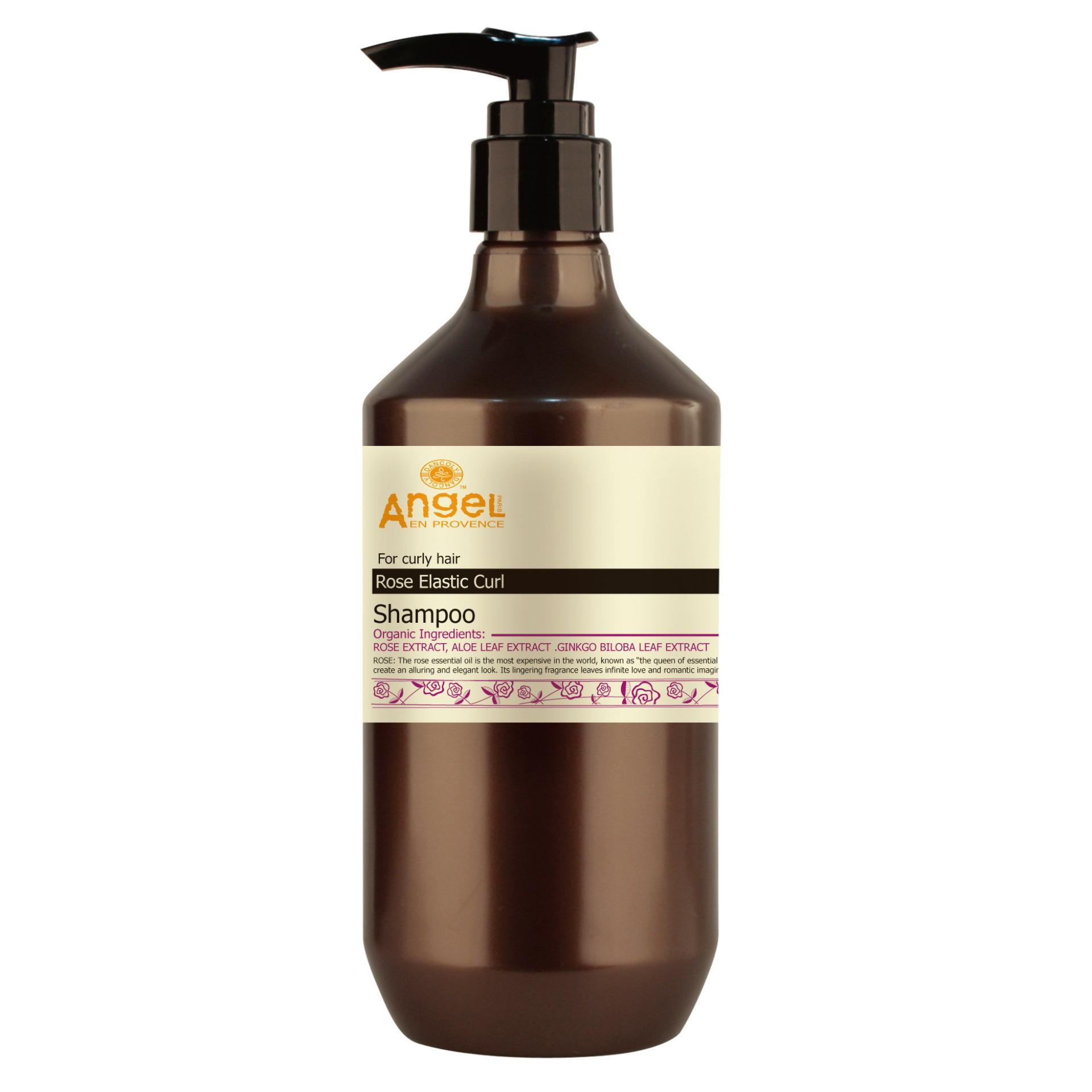 Dancoly Rose Elastic Shampoo 400 ml - For Curly Hair / RambutKeriting