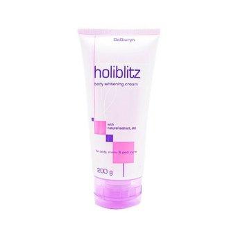 DeBiuryn HoliBlitz - Whitening - Bleaching Cream - Krim PemutihKetiak - Underarm dan Selangkangan - 200