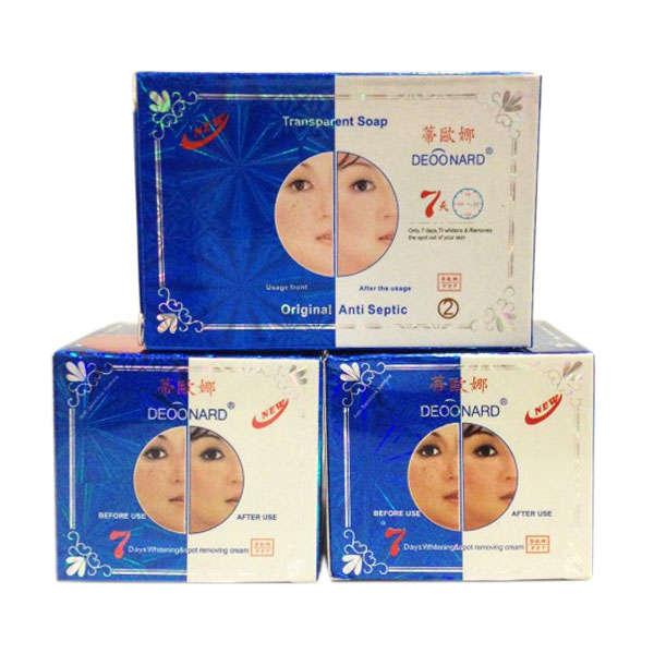 Deoonard Cream Blue dan Sabun [perawatan jerawat]