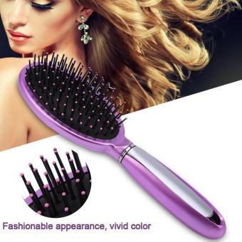 Harga Detangling Wet & Dry Hair Brush Gentle Bristles Massage CombHairdressing Tool (Pink) – intl Murah