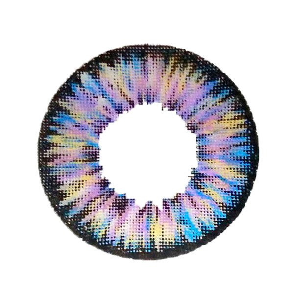 Dolly Wink Softlens Eye Glamour 22.8mm - Ungu