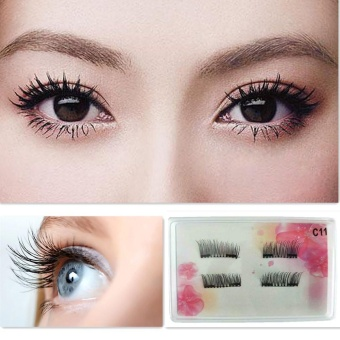 Double Magnets Ultra-thin 0.2mm Magnetic Eye Lashes 3D ReusableFalse Magnet C - intl