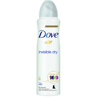 Dove Invisible Dy Anti Perspirant - 250 mL