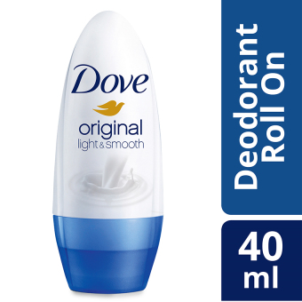 Dove Roll On Deodorant Light & Smooth 40Ml