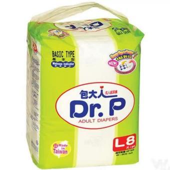 DR.P Basic Type L-8 - DR.P Adult Diaper, Popok Dewasa, Popok Orang Tua, Popok Orang Sakit, Pampers Dewasa, Pampers Orang Tua, Pampers Orang Sakit