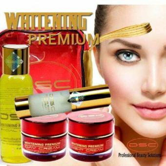 DSC Whitening Premium / Whitening Gold Original NEW PACK POM / Paket Pemutih Wajah