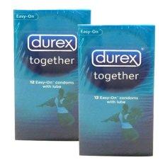 Durex Kondom Together - Isi 12 - 2 x