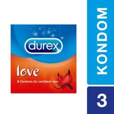Durex Love 3s - Kondom