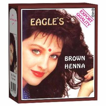 Eagle Henna Hair Coloring - Brown [10 g] 1 pc