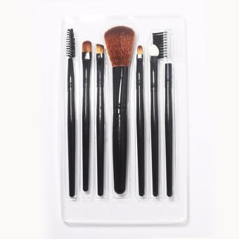 EELIC KMU-9045 HITAM Kuas Make up 1 Set 7 Pcs -