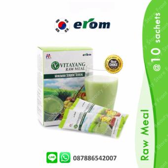Erom Raw Meal Nutrition - For Body Building - 10 Sachet