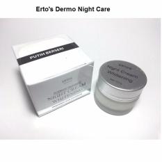 Ertos Night Cream / Dermo Night Care Whitening Cream Pelembab dan Pencerah Wajah