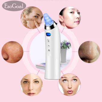 EsoGoal Blackhead Removal Electronic Facial Pore Cleaner Acne Remover Utilizes Pore Vacuum Extraction - intl