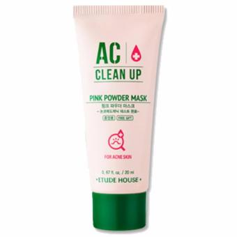 Etude House AC Clean Up Pink Powder Mask 20 ml