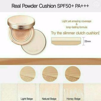 ... Light Source · Etude House Real Powder BB Cushion SPF 50 PA Refill Puff 21 Natural