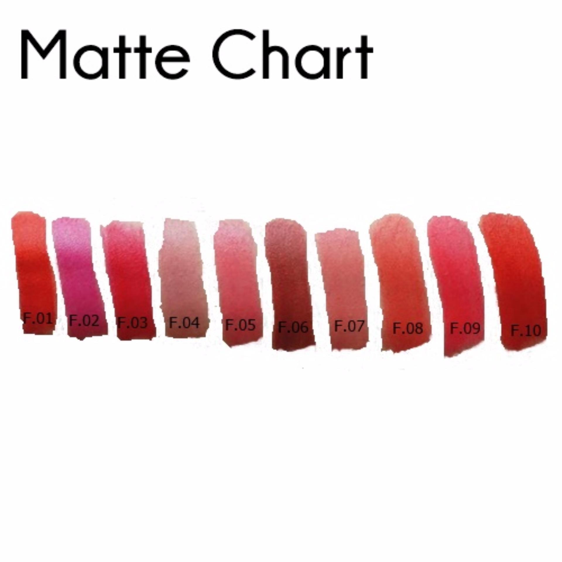 Fanbo Fantastic Matte Lipstick - F.06 Edgy Deep Brown ...