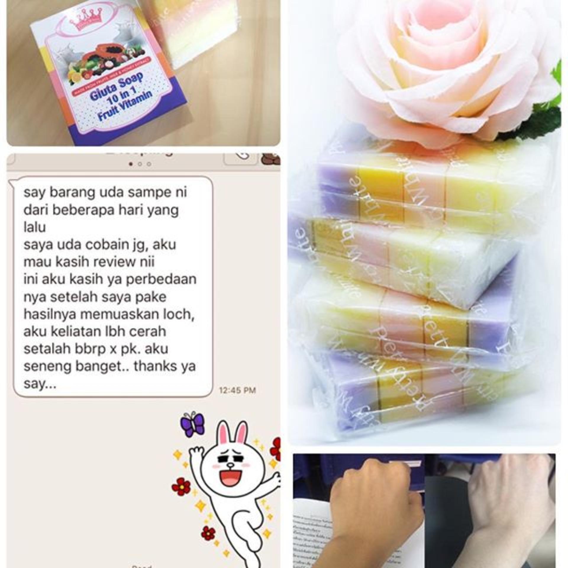 Price Checker Fruitamin Soap Bpom Sabun Pemutih Badan Dan Wajah Fruity 10in1 Rainbow