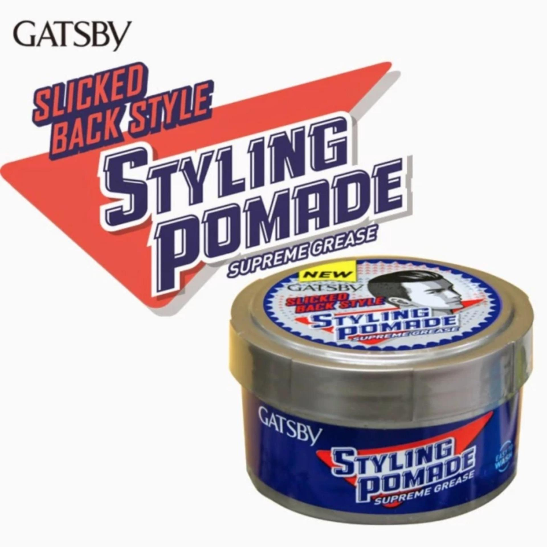 REVIEW Gatsby Styling Pomade Supreme Grease – 30gr Terpopuler