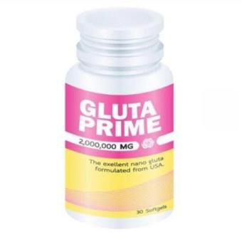 Gluta Prime 2,000,000 MG | 30 Softgels Whitening Formulated From USA
