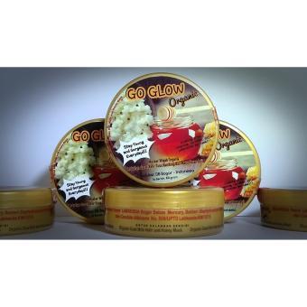 harga Go Glow Organic Mask Masker Kefir Susu Kambing Madu Organik Wajah 100g Lazada.co.id
