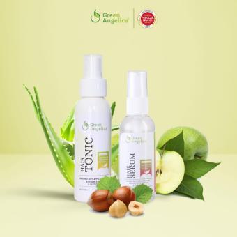 Harga Green Angelica Paket Combo 1 Obat penumbuh rambut tipis parah label BPOM Murah