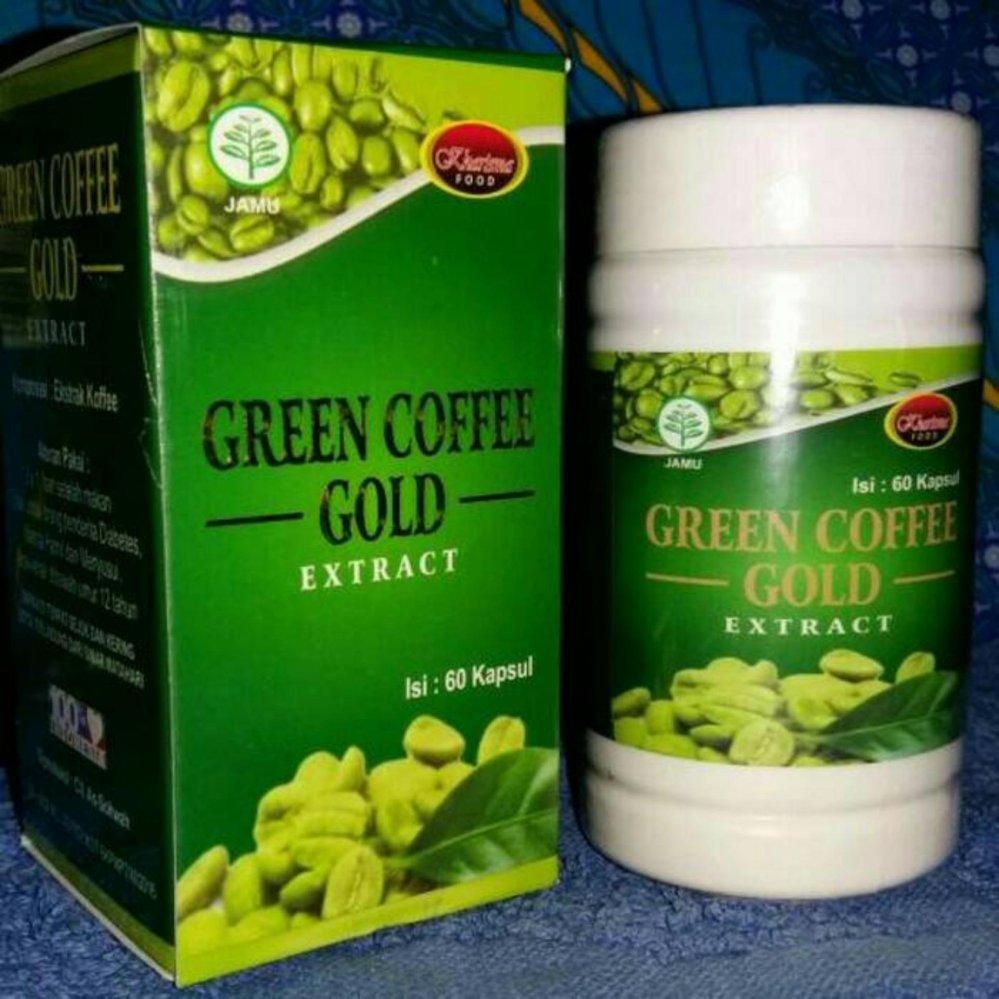 Green Coffee Gold Ekstrak Merupakan100 Kopi Hijau Alami Daftar Diet Bean Cheap Online Merupakan 100