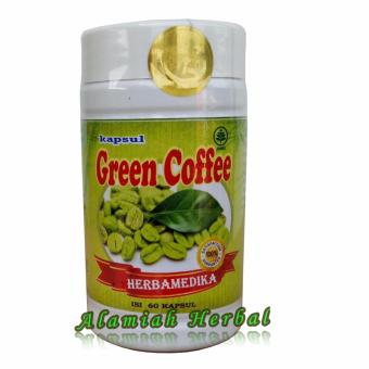 Green Coffee herba kapsul Diet Alami - 60 Kapsul