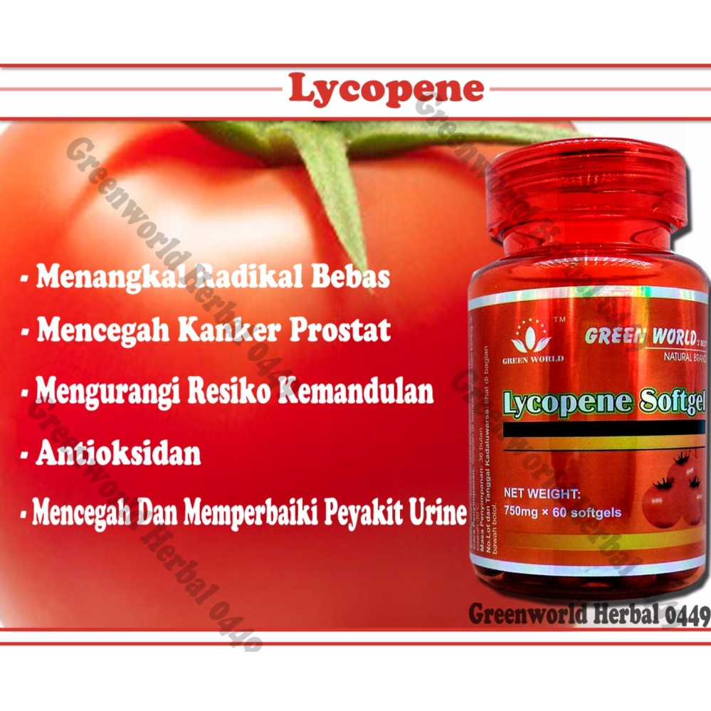 ... Mengatasi Kanker Prostat Kanker Ovarium Page 2 Lycopene. Source · Green World - Lycopene Softgel - Lycopene Herbal .