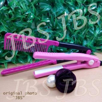 Harga Haidi Catokan Mini Pelurus Rambut – HD 768 – Pink – Sisir Ion Pelurus Rambut – Jepitan Rambut Mutiara Murah