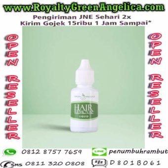 Harga Hair Removal Green Angelica, Perontok Bulu Kaki, Tangan, KetiakPermanen dalam 5 Menit Murah