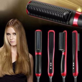 Harga Hair Straightener New 908 Sisir Catok Pelurus Rambut – Merah Murah