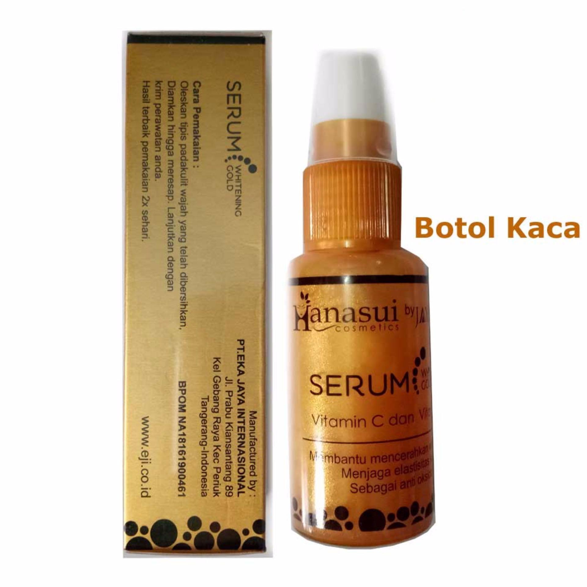 Hanasui By Jaya Mandiri Serum Whitening Gold Bpom 1 Botol Daftar Vitamin C Orange Flash Sale