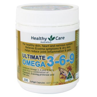 Healthy Care Ultimate Omega 3-6-9 200 Kapsul