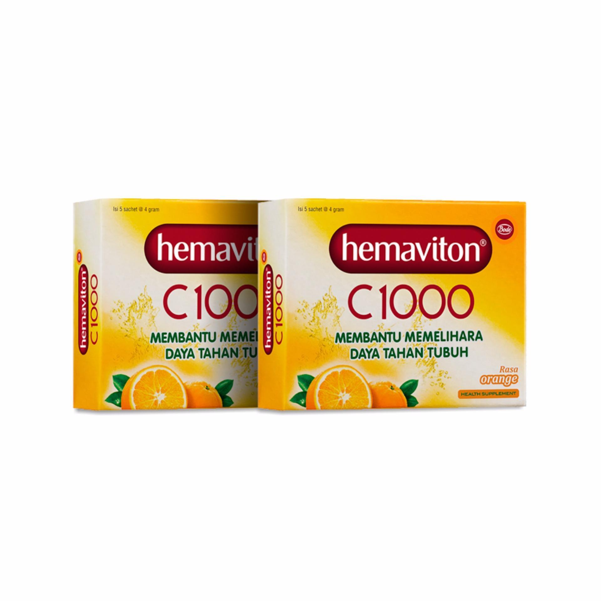 Daftar Harga Hemaviton C1000 Rasa Orange Sachet Minuman Kesehatan 4 S3 Carbo 1 Box Isi 15 Flash Sale G 2 Folding