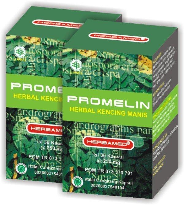Flash Sale Herbamed Promelin Obat Herbal Diabetes