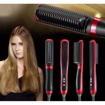 Harga High Quality Hair Straightener Baru ASL 908 / Sisir Catok Pelurus Rambut Sangat Cepat Elektronik Model Baru Rambut Keriting Jadi Lurus Murah