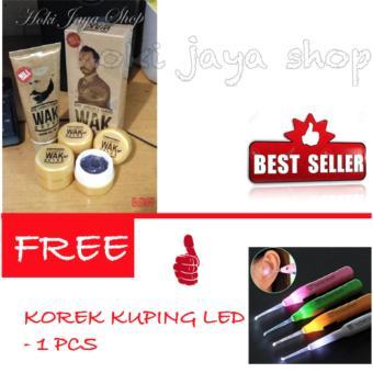 Harga HOKI COD – Cream Wak Doyok Cream Penumbuh Rambut Jambang – Premium – Ukuran Sample FREE Korek Kuping LED – 1 Pcs Murah