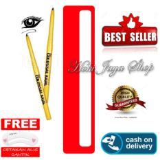 HOKI COD - Eyeliner Spidol Colossal Kajal 24H Waterproof - Multi Model - 1 Pcs  - Hitam + Gratis Cetak Alis Cantik - Premium