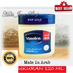 HOKI - Vaseline 120ml Petroleum Jelly Asli Murni 100% Original Arab - 1 Pcs