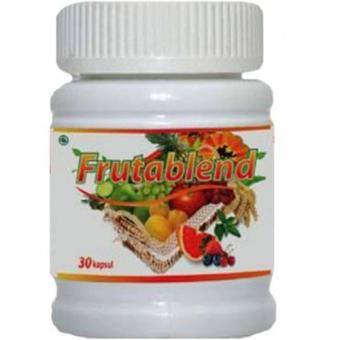 HWI - Frutablend Asli untuk Pencerah Kulit Penormal Kolesterol (30 kapsul)