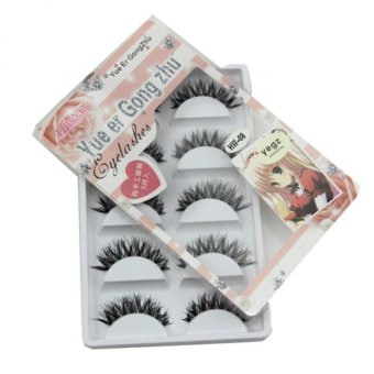 Harga Coconie 5 Pair/Lot Crisscross False Eyelashes Lashes Voluminous HOT Eyelashes - intl