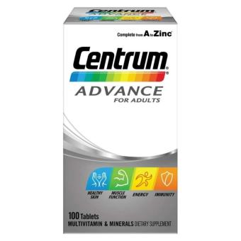 Harga Centrum Advance For Adult – 100 Tablet Mulivitamin Mineral Australia