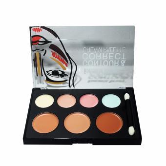 Harga Beauty Contour Cream Pallette - Make Up Contour 7 Colors